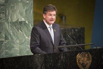 Presidente da Assembleia Geral, Miroslav Lajcák.