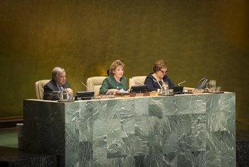 António Guterres discursou na abertura da 62ª. sessão da Comissão sobre o Estatuto da Mulher.