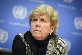 Coordenadora especial para melhoramento na resposta da ONU à exploração e ao abuso sexuais, Jane Holl Lute.