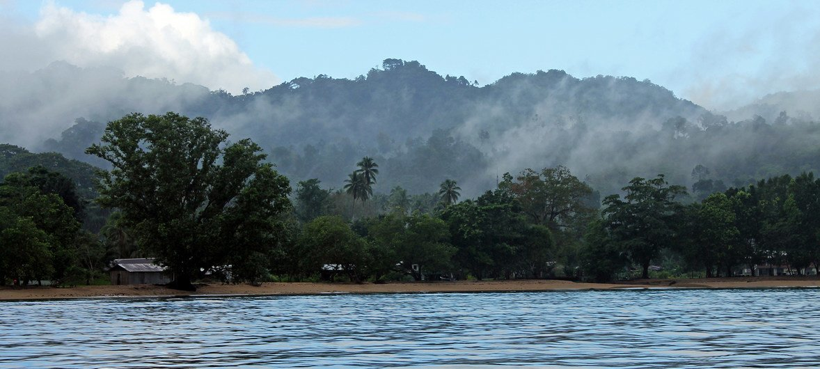 The population of Solomon Islands, a nation made up of hundreds of isladns in the South Pacific, mostly live on high islands.