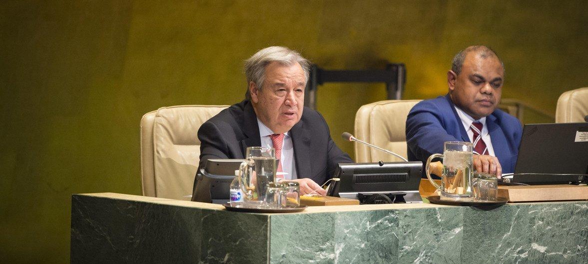 联合国秘书长古特雷斯在消除种族歧视国际日到来之际发表讲话