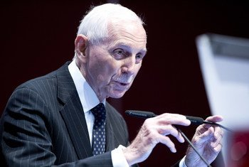William Lacy Swing, Director-General of the UN International Organization for Migration (IOM). (file)