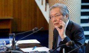 Глава Миссии ООН по содействию Афганистану (МООНСА) Тадамичи Ямамото