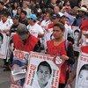 Mexico: un rassemblement de protestation sur l'affaire des 43 étudiants d'Ayoitzinapa disparus en 2014