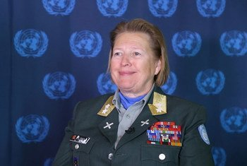 Major General Kristin Lund, Head of Mission and Chief of Staff of the United Nations Truce Supervision Organization (UNTSO). (screenshot)