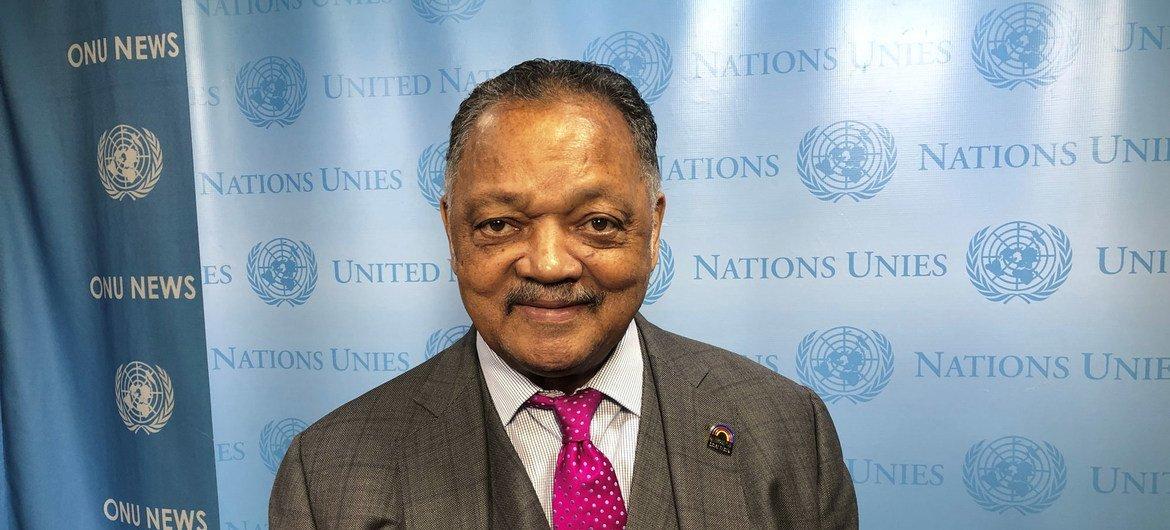 Jesse Jackson Issues Call At Un For Global Coalition Of Conscience