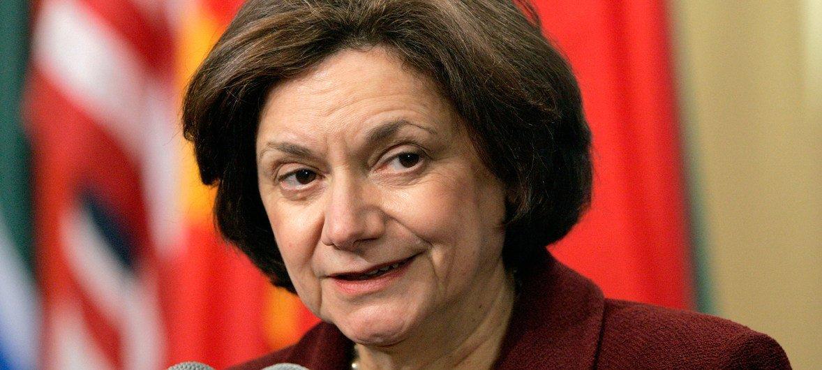 Nova subsecretária-geral para Assuntos Políticos, Rosemary DiCarlo.