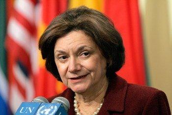Rosemary A. DiCarlo, UN Under-Secretary-General for Political Affairs.