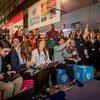 """联合国参与主办的第二届""""全球可持续发展创意节""""的参与者在德国波恩齐聚一堂。"""