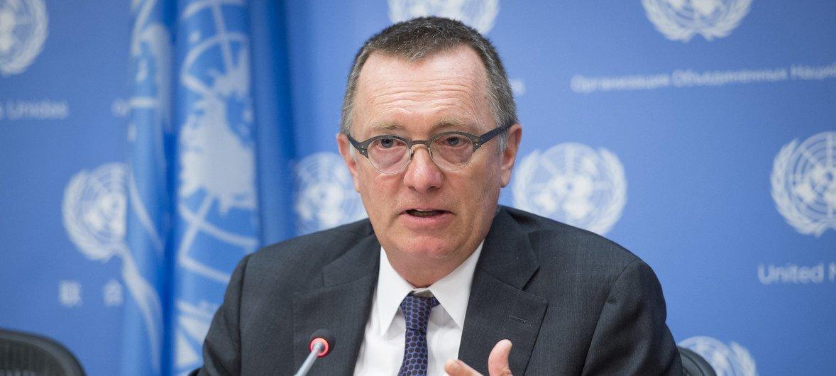Покидая свой пост, Джеффри Фелтман посоветовал своей преемнице установить доверительные отношения с государствами-членами ООН