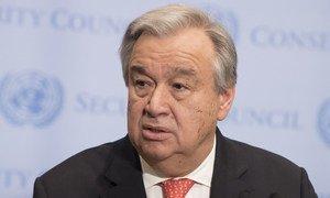 António Guterres realça que os confrontos podem desencadear uma crise de segurança e humanitária