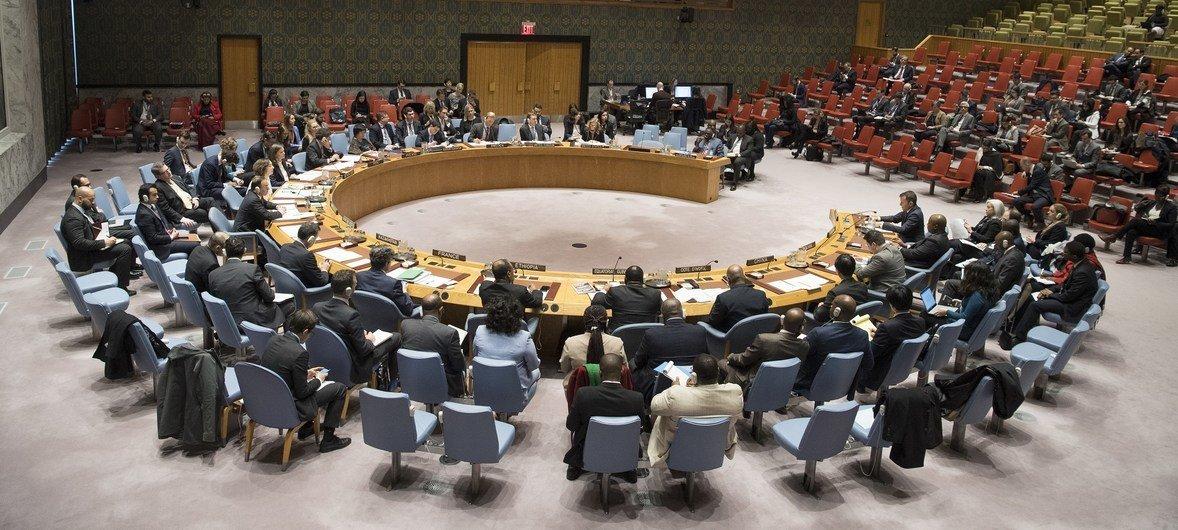 Réunion du Conseil de sécurité de l'ONU (archives).