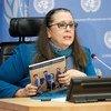 Conselheira-sênior do Unicef, Rosângela Berman Biele.