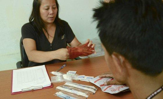O relatório divulgado esta quarta-feira mostra que, apesar do declínio global de novas infeções pelo HIV, a sua incidência não tem diminuído entre os consumidores de drogas injetáveis.