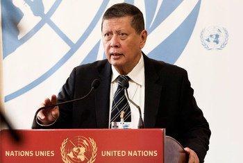 Marzuki Darusman, Président de la mission d'enquête internationale indépendante sur le Myanmar (archives)