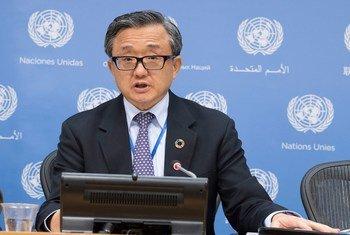 联合国负责经济和社会事务的副秘书长刘振民。(资料图片)