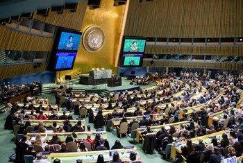 Assembleia Geral da ONU.