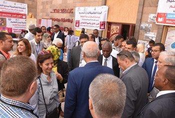 """فعاليات المؤتمر الإقليمي بشأن""""التعلّم من أجل العيش المستدام في المدن في المنطقة العربية"""" برعاية اليونسكو - أسوان - مصر"""