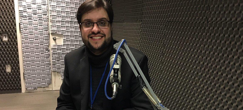 Danilo Parmegiani, representante da Legião da Boa Vontade na ONU