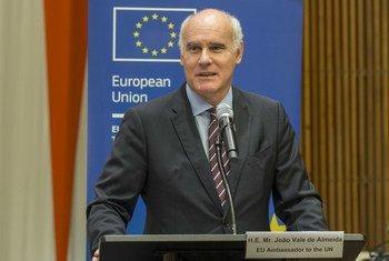 João Vale de Almeida, representante da União Europeia junto às Nações Unidas.