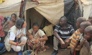 Lola Castro, diretora regional do Programa Mundial de Alimentação, PMA, para África Austral e Oceano Índico, em Angola.