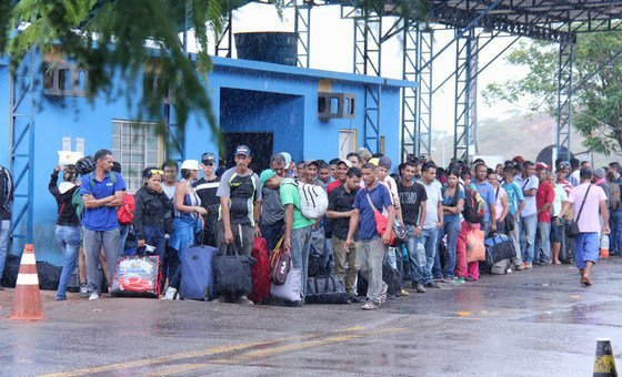 De acordo com o Acnur, mais de 52 mil venezuelanos entraram no Brasil desde 2017 por causa da crise político-econômica em seu país