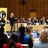 На встрече в ООН Сиенна Миллер говорила о проблемах, с которыми женщины сталкиваются в киноиндустрии