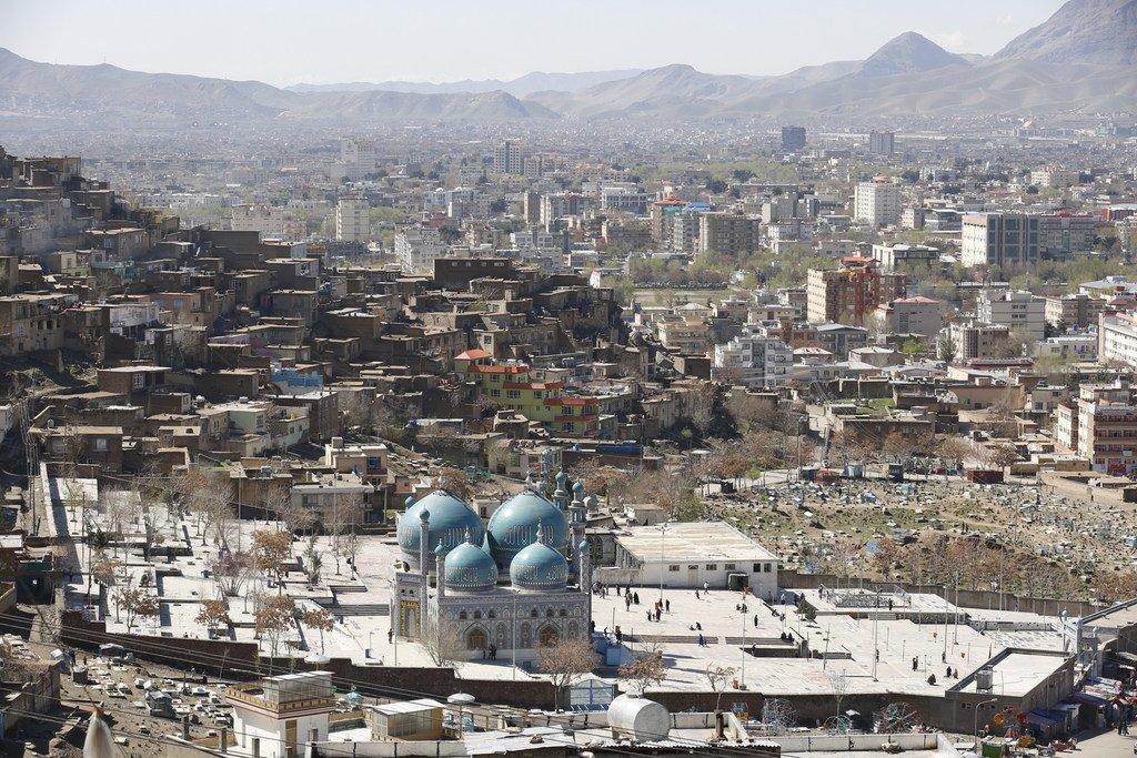 La capitale afghane, Kaboul.