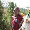 今年2月,埃塞俄比亚奥罗米亚地区再次发生抗议示威期间,一名逃往肯尼亚寻求庇护的妇女。