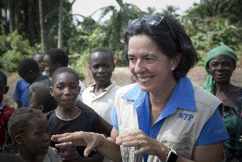 Lola Castro, directora regional para el sur de África del Programa Mundial de Alimentos