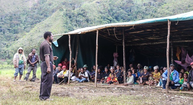 UN food aid to benefit 60,000 people in earthquake-hit Papua New Guinea
