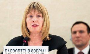 Эксперт ООН по правам человека Фионнуала Ни Аолэйн.