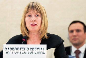 Fionnuala Ni Aolain, Rapporteure spéciale sur les droits de l'homme et la lutte contre le terrorisme.