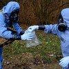 Инспекторы Организации по запрещению химического оружия