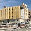 叙利亚拉卡市正在进行重建。