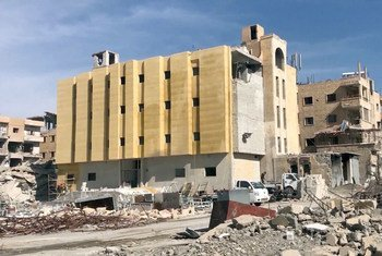 Многие здания в сирийском городе Ракке требуют реконструкции