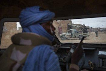 Patrulha da Minusma no norte do Mali. Esta é uma das missões de paz mais perigosas da ONU