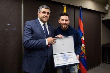 Lionel Messi é nomeado embaixador da Organização Mundial do Turismo