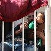 哈尔加勒(Harjalleh)集体安置点安置了1万5千多名来自叙利亚东古塔的难民。上周,东古塔地区的杜马再次出现针对平民使用化学武器的指称。联合国秘书长古特雷斯今天敦促安理会成员国履行责任,避免当地局势失控。