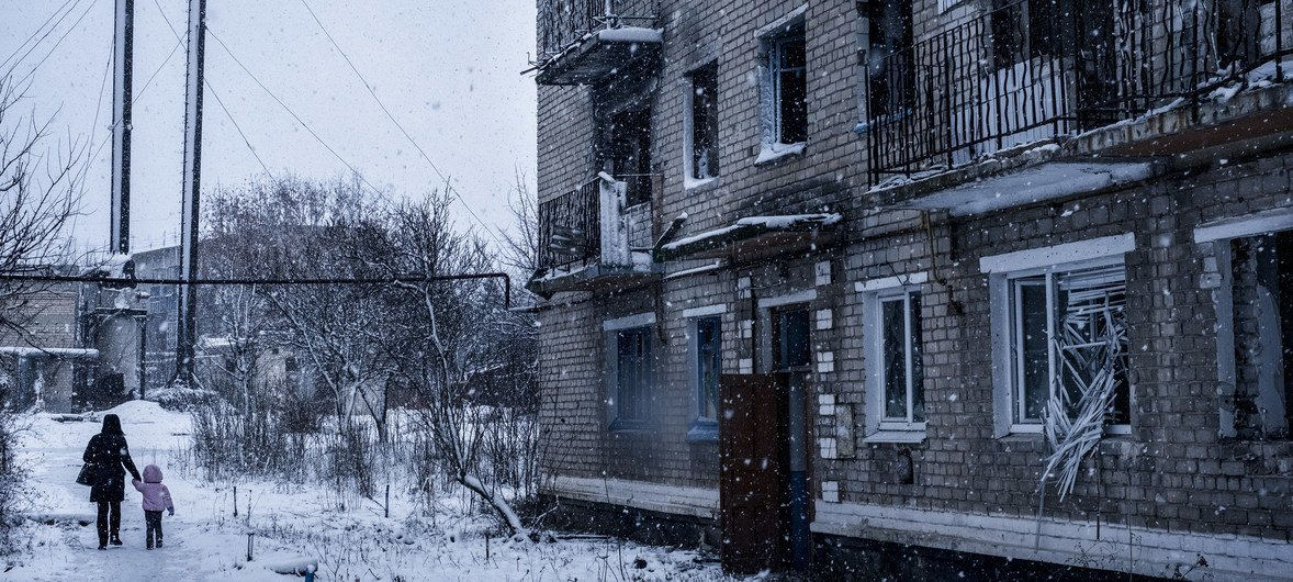 UN agency launches appeal to reach over 340,000 with assistance in crisis-struck Ukraine