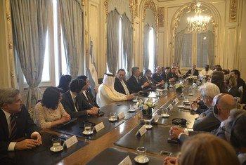 A Buenos Aires, l'OMT se joint aux ministres du tourisme pour demander aux dirigeants du G20 de faire du tourisme une priorité.