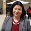 Monica Grayley, enviada da ONU News no Encontro regional da Cimeira Mundial da Saúde, em Coimbra, Portugal.