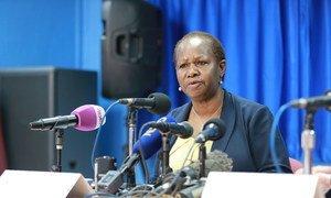 File photo of Bintou Keita taken prior to her appointment as UN Special Representative in the Democratic Republic of the Congo.