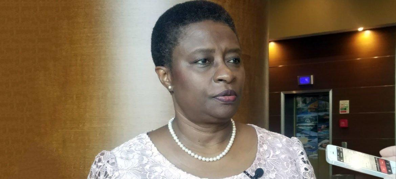 Magda Robalo, diretora do Escritório Regional da OMS sobre Doenças Transmissíveis na África.