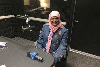 عميدة الشرطة الدكتورة عفاف أحمد الحسن طه وممثلة الشرطة في الاتحاد العام للمرأة السودانية