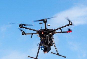 Drones ajudam no combate à fome realizando operações de busca e resgate