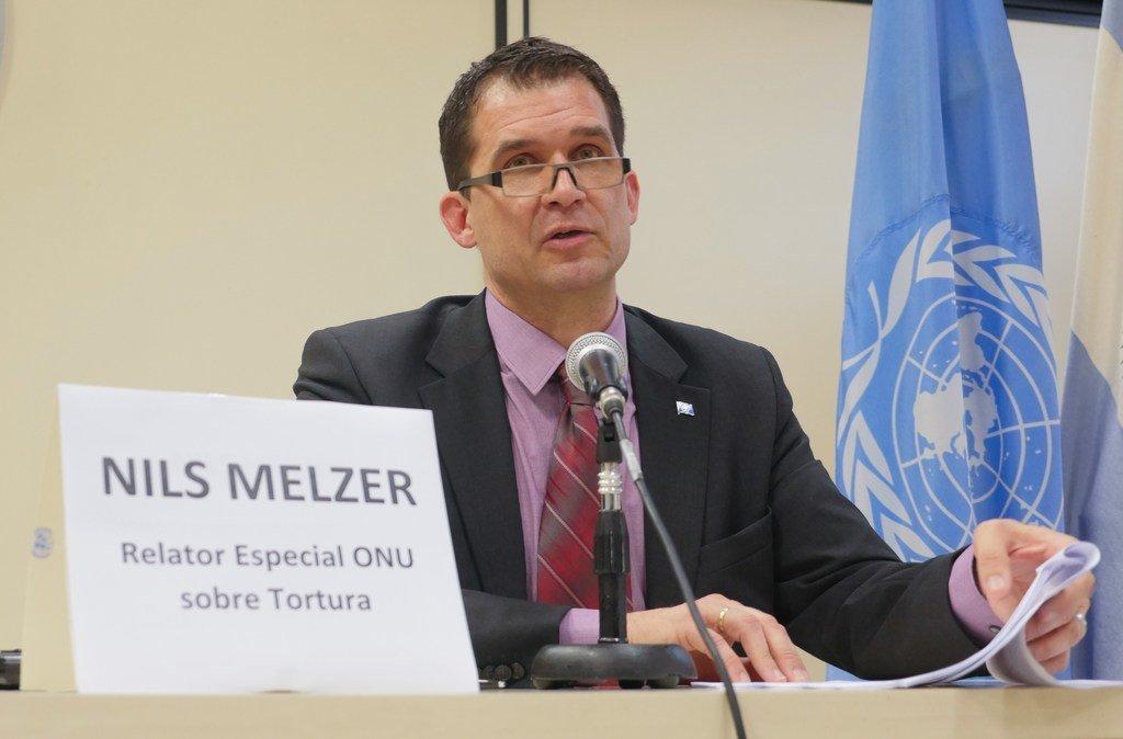 Nils Melzer, relator especial para la tortura