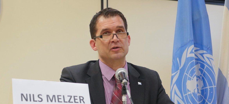 Nils Melzer, Rapporteur spécial des Nations Unies sur la torture