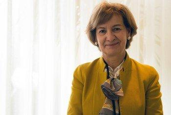 Secretária de Estado dos Negócios Estrangeiros e da Cooperação, Teresa Ribeiro.
