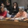 联合国常务副秘书长阿米娜·默罕默德今天在安理会有关冲突中性暴力问题的年度公开辩论中发表讲话.